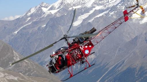 Helicoptero en Hörnli
