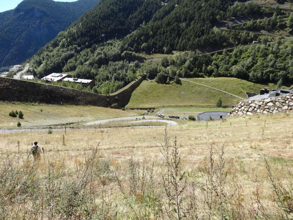 Zona de aparcamiento de Prats Sobirans