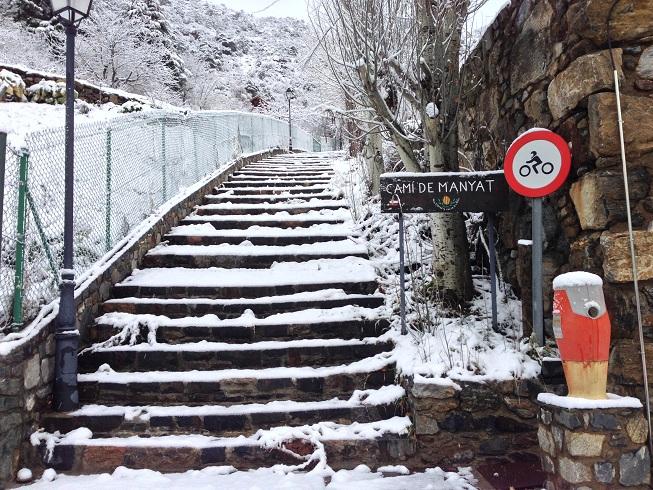 Camí del Manyat en Certés