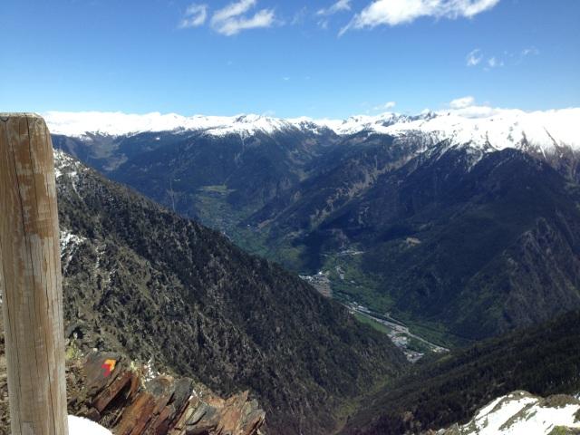 Vista desde el Bony de la Pica