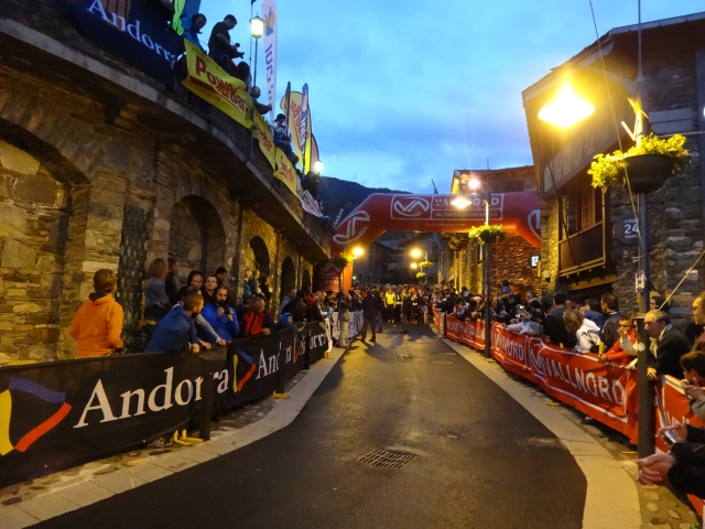 Salida Andorra Ultra Trail Mitic