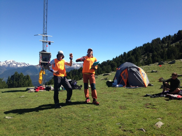 Andorra Ultra TRail Mitic Voluntarios en la Caulla