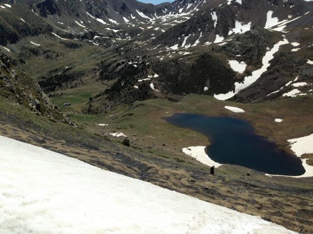 Andorra Ultra Trail Mitic 2013 Coll del Bou Mort Claror abajo