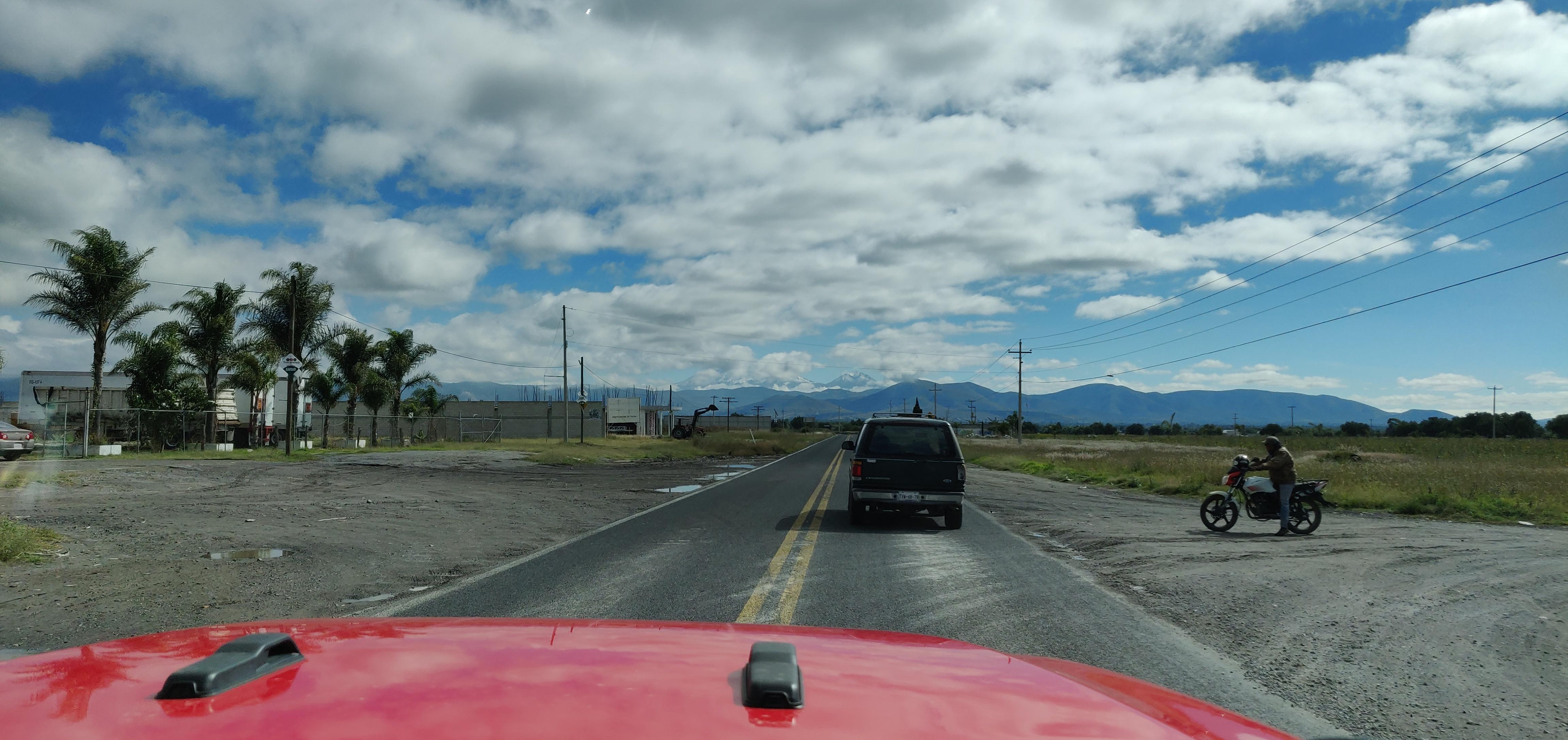 De camino a TLACHICHUCA